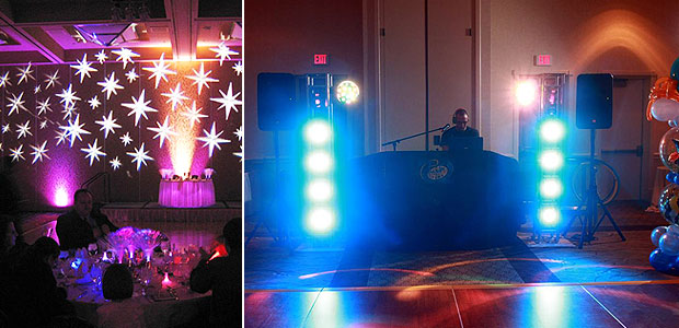 Quince u0026 Sweet 16 Lighting Decorations & Party Time DJs   South Florida Quince u0026 Sweet 16 Ambient Lighting Decor